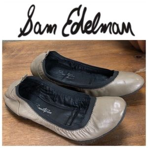Sam Edelman Boutique Tan Leather Ballet Flats